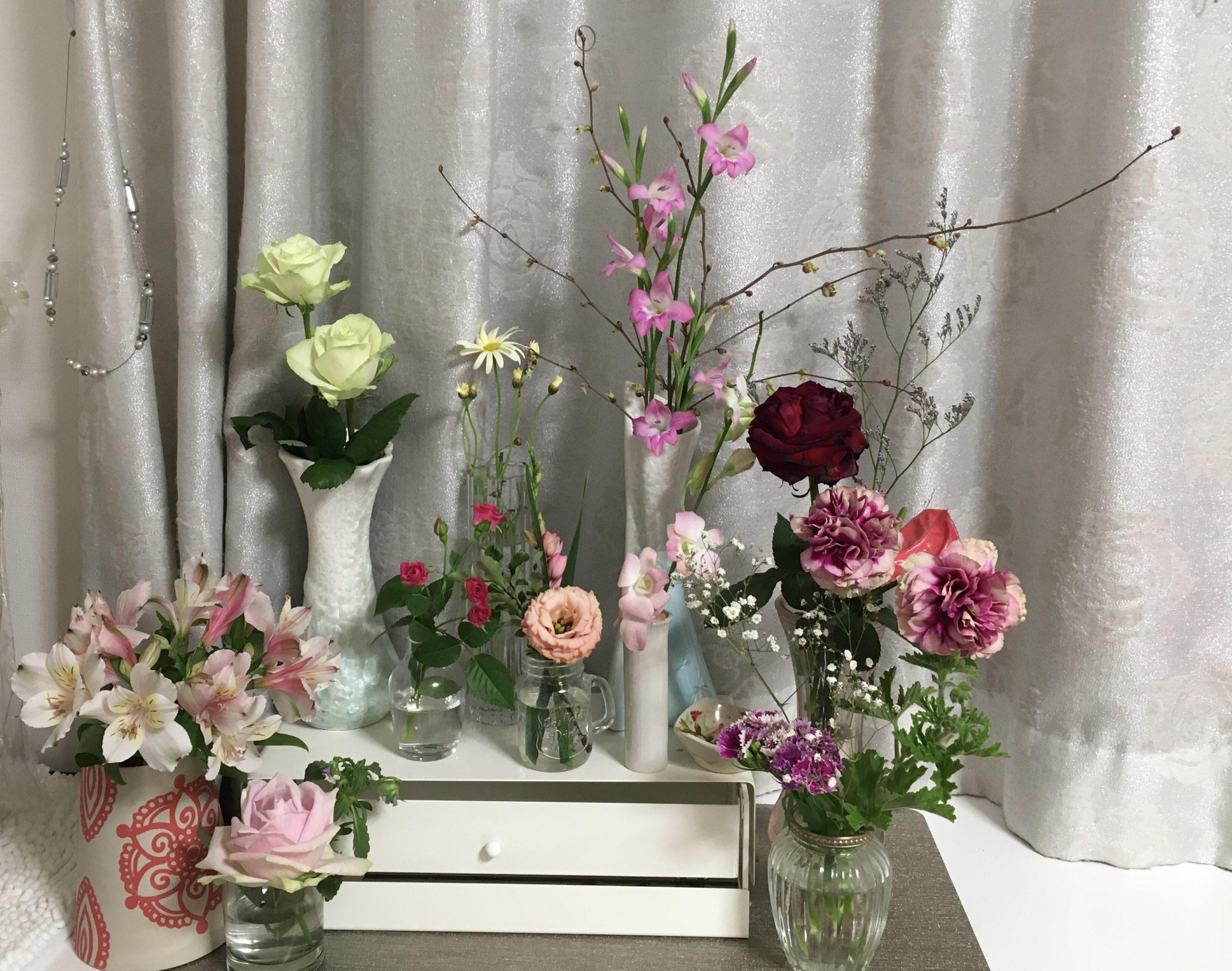 お花畑計画。お花のあるくらしとおこもりだからこそできるセルフネイルオフ。
